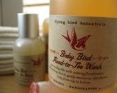 0225 8oz baby bird head-to-toe wash... organic baby wash and baby shampoo