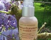 gentle cleansing toner 2oz, an all natural organic herbal toner