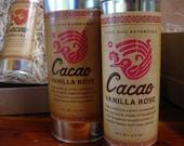 0498 Vanilla Rose Cacao 3.5oz... 100% raw, organic, fair trade drinking chocolate