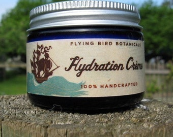 0204 hydration creme... 100% organic, fair trade hand and body cream