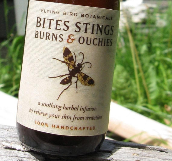 0208 bites stings burns and ouchies spray
