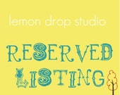 Custom Listing for GenoraCroth
