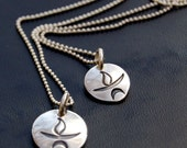 SET- Two UU Chalice Necklaces - (1) Small (1)Large