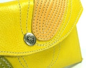 Map Yellow Wallet