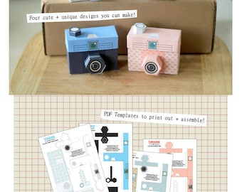 Perfect Paper Polaroid Cameras Includes 2 Colours By