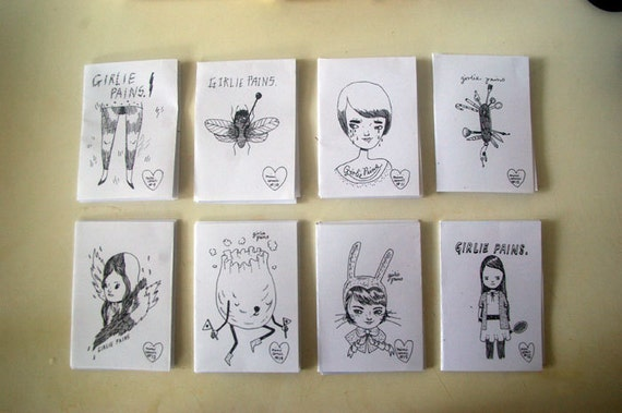 MINI Comic Pack - ( 8 issues ) by Mel Stringer