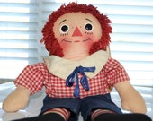 Knickerbocker Raggedy Andy Doll from 1960s