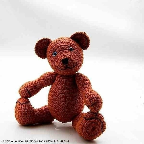 bear Alex Alaska crochet PDF Pattern