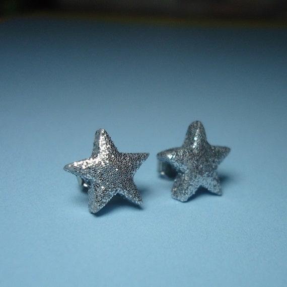 Tiny Star Post Earrings