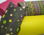 4 pillow boxes with tags - Encre de Chine  -
