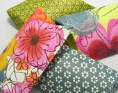 4 pillow boxes with tags - Summer Bouquet -
