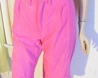 Hermans Hemp pink Small shorts