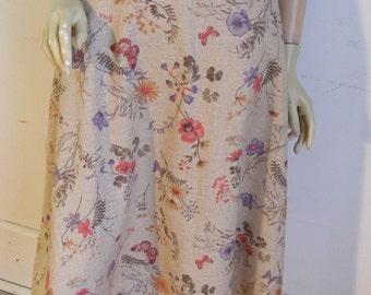 Anna Hermans Cotton butterfly Skirt 26 w