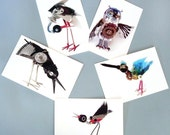 set of 15 robot animal postcards
