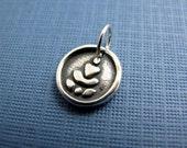 buddha nature sterling silver charm