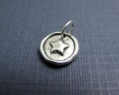 star shine sterling silver charm