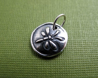 dragonfly breeze sterling silver charm
