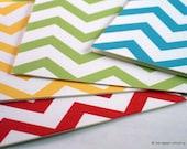 Chevron Zig-Zag Note Cards