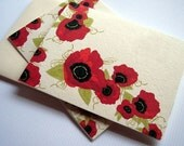 Poppy Note Cards - Red Poppies