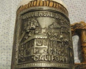 Vintage Universal Studios California Ceramic Handled Mug/Stein