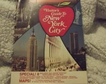 1976 Visitor's Guide To New York City