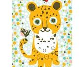 Postcard Jaguar