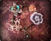 Flowers and Fancy  Bracelet