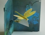Kirigami Dragonfly Pop-up Card, Make Yourself