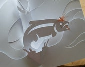 Fly Fishing Kirigami, Make Yourself