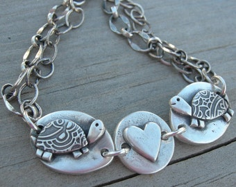 Heart Jewelry Turtle Love Bracelet Valentine