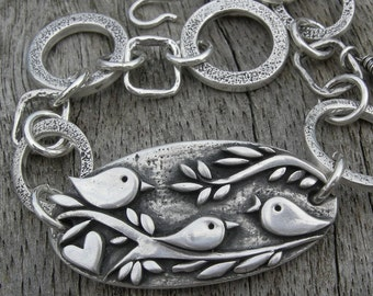 Mothers Day Gift Original Three Little Birds Bracelet