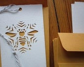 Snow Bee Ornament