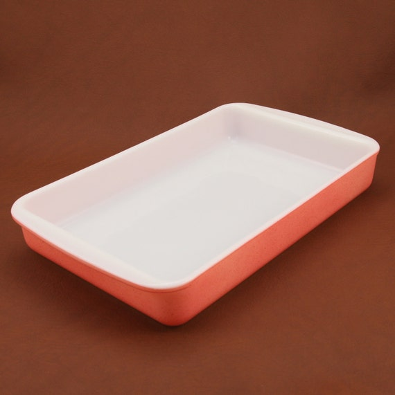 Pyrex Desert Dawn Pink 2 Qt Casserole Dish Vtg