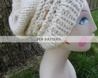 Digital PATTERN ONLY  Roxy's Slouch Hat