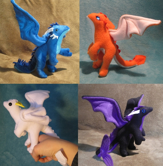 Made to Order Custom Mini Plush Dragon