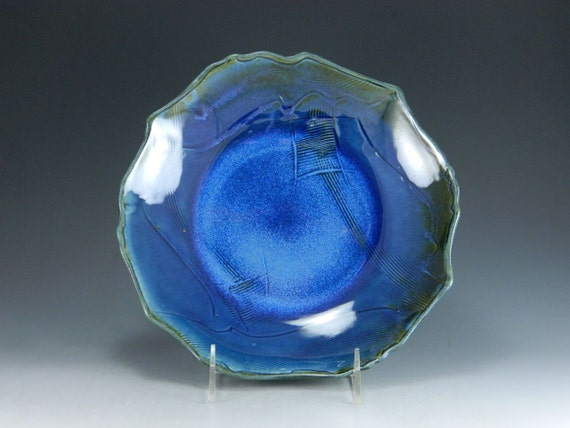 The Dog Days of August Sale Chun Blue Shallow Bowl