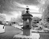 The Guardian Sculpture at the Chicago Botanical Garden -  8x12 Fine Art Photograph