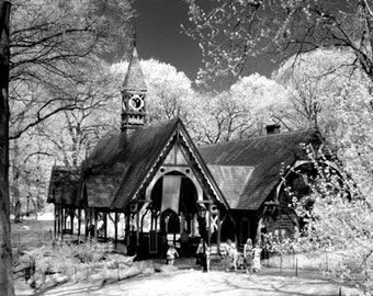 The Dairy in Central Park New York - 8x12 Fine Art Infrared Photograph