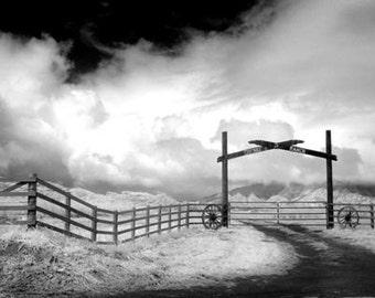 Corner Ranch in Hawaii - 8x12 Fine Art Infrared Photograph