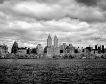 The Jackie Onassis Reservoir in Central Park New York - 8x12 Fine Art Infrared Photograph