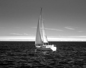 Come Sail Away - 8x12 Fine Art Infrared Photograph