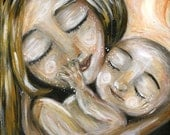 mother and child art print - Possibilities - Archival 8x10 signed motherhood print
