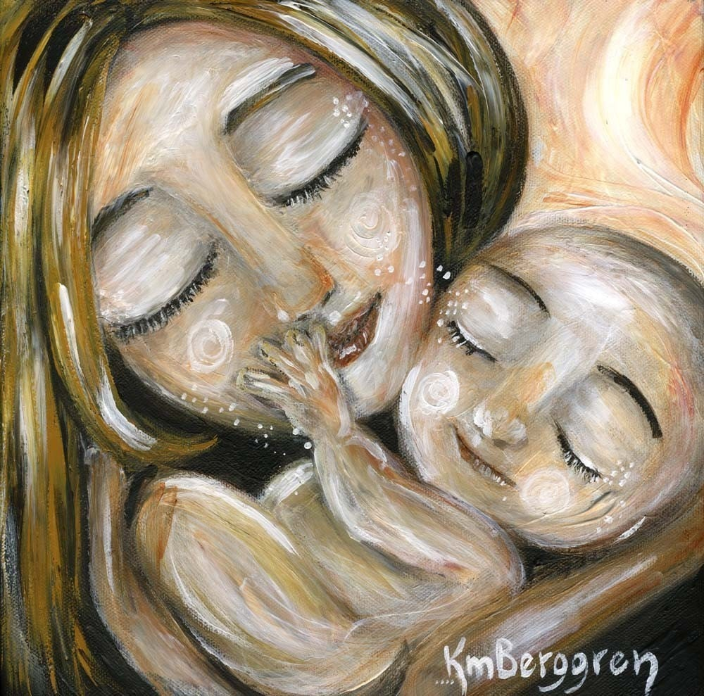 Motherhood Acrylic Painting