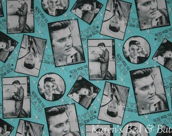 Elvis Presley in The 50's Set of Four Placemats