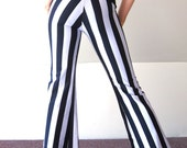 Circus Striped Pencil Pants