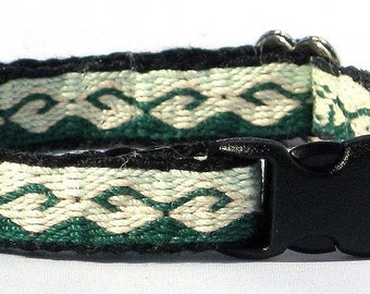 Greenhorn  - Card Woven Dog Collar