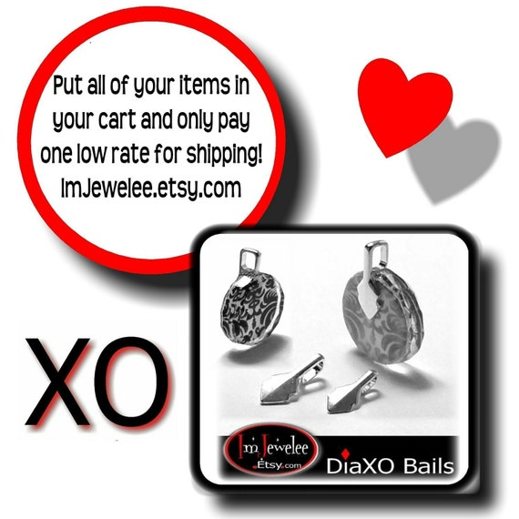 50 DiaXO Bails WATCH OUT for LEAD Bails Your Choice Small or Medium