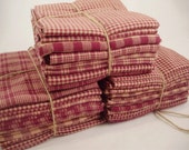 Country Fat Quarter Bundles  red wine left