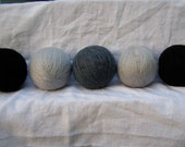 eco wool dryer balls - five pack