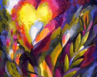 Heart Garden Print